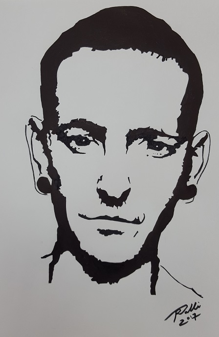 Chester Bennington by RobertoMalta89